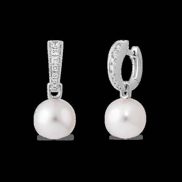 Pendientes de Perlas, PE16028-OBPAD3,5