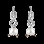Pearls earrings, PE15073-OBD