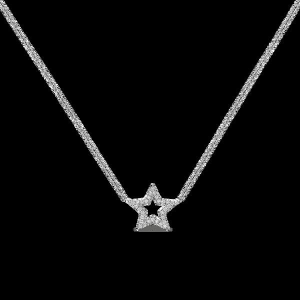 White gold pendant, PT18002-OBD10,5_V