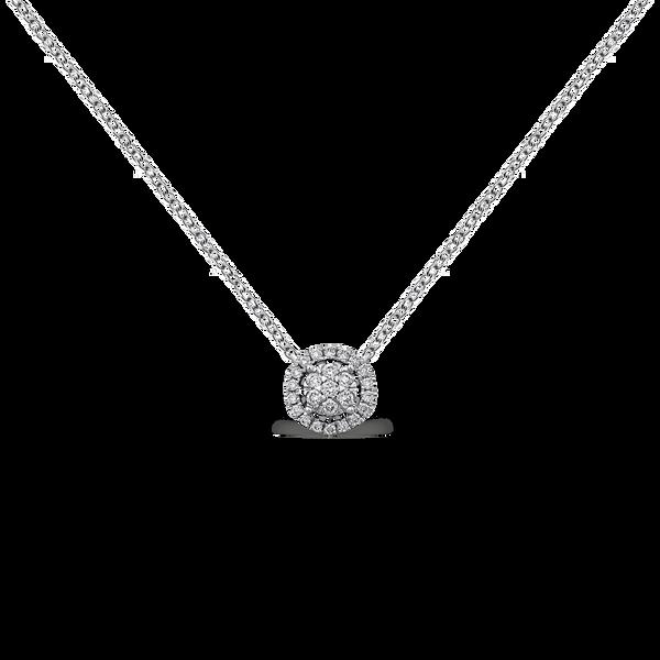 White gold pendant, PT11015-00D_V