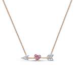 Rose and white gold pendant, PT17038-OROBDZR_V