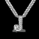 White gold pendant, PT17002-OBDJ_V