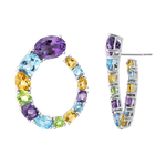 Pop Art earrings, PE16023-AGMULT_V