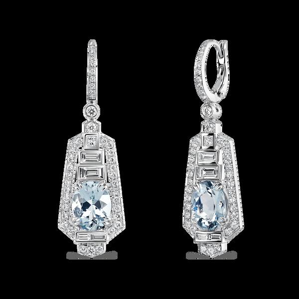 Géométrie earrings, PE17025-OBAGD