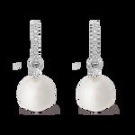 Pearls earrings, PE6078-PA12_V