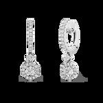 White gold earrings, PE7169-00D010_V