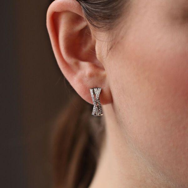 White gold earrings, PE17030-OBD_V