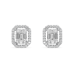 White gold earrings, PE12090-00D_V