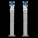 Blue Berlin earrings, PE19092-AGTPLN_V