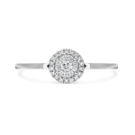 White gold ring, SO16029-OBD_V