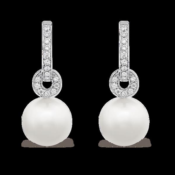Pearls earrings, PE13081-OBDPL_V