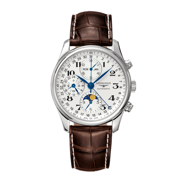 LONGINES MASTER COLLECTION 40MM CHONOGRAPH MOONPHASE, L26734783_V