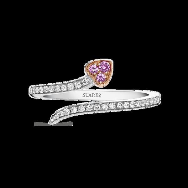 Rose gold ring, SO17157-OBORDZR_V