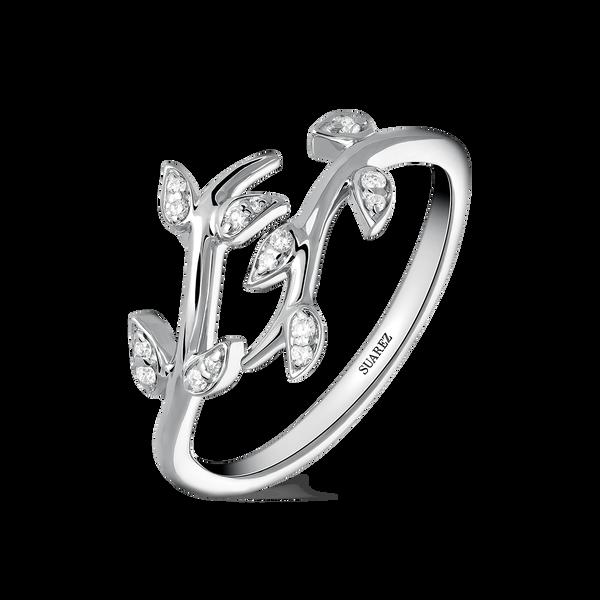 White gold ring, SO17163-OBD_V