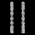 White gold earrings, PE18081-OBD_V