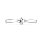 Engagement ring, SL17008-00D015_V