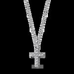 White gold pendant, CR12006-OBD_V