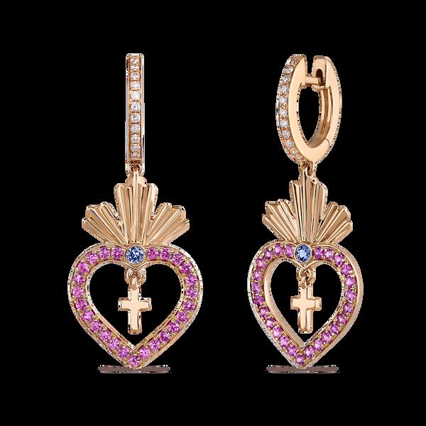 Pendientes de Amuletos de Frida, PE19104-ORZR_V