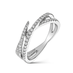 White gold ring, SO19008-OBD_V