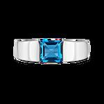 Blue Berlin ring, SO19094-AGTPLN_V