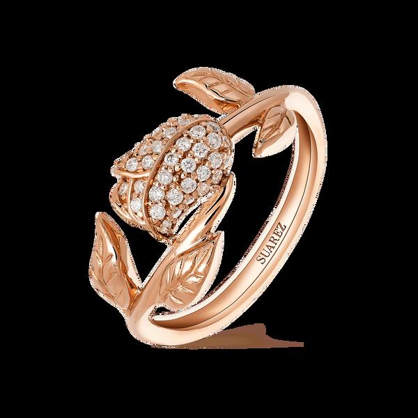 Rose gold ring, SO17154-ORD_V