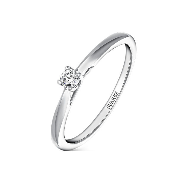 Engagement ring, SL16007-00D008_V